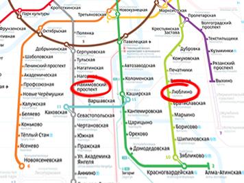 подачи станция люблино и ближащее метро маршрут Форум